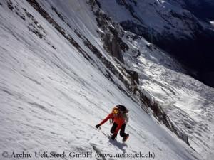 Ueli Steck In der Annapurna-Südwand