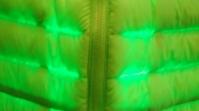 Daunenjacke mit Alieneffekt