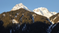 Berge im Morgenlicht