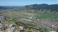 Blick vom Kofel auf Oberammergau