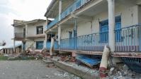 Schule Thulosirubari nach dem Erdbeben