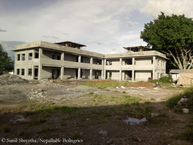 Baustelle Thulosirubari, August 2017