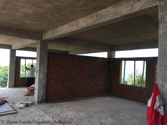 Thulosirubari Baustelle Juli 2017