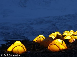 Advanced Base Camp on Everest