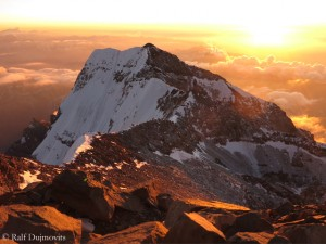 West summit of Aconcagua
