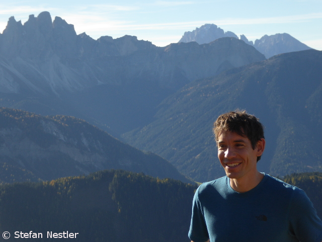 """Honnold: """"The biggest inspiration in my whole life"""" - Climbing"""