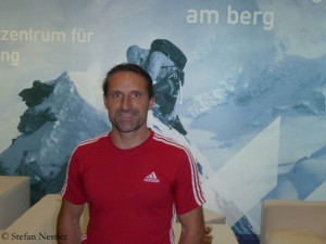 Alexander Huber in Innsbruck