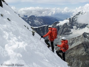 Ascent on the Matterhorn (Photo: © Christoph Frutiger)