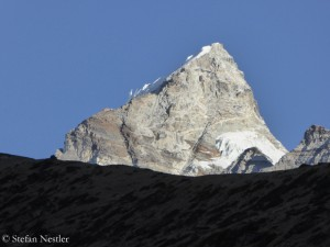 A mountain in Gokyo Valley