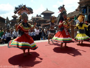 Ceremony at Bhaktapur