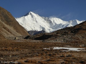 Nepalese south side of Cho Oyu
