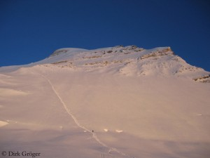 Upper slopes on Cho Oyu