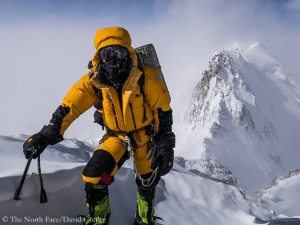 David on the Mazeno ridge (© The North Face)