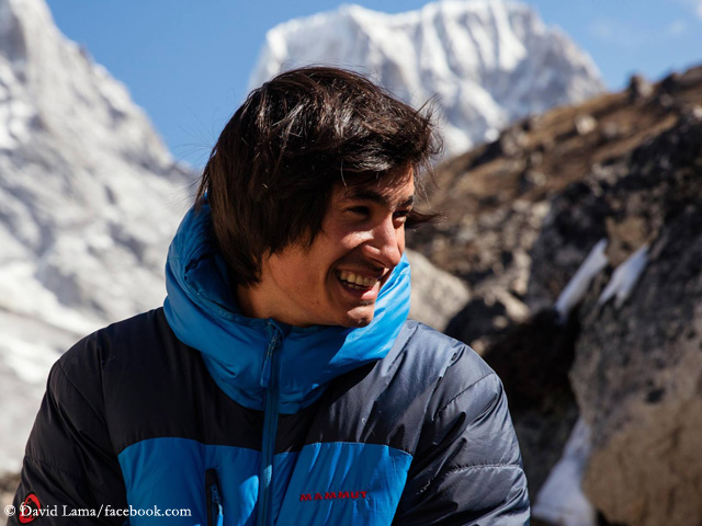 David Lama is said to have succeeded solo first ascent of Lunag Ri