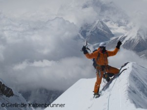 David at the summit of Nuptse in 2012