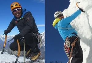 Dawa Gyalje Sherpa (l.) and Tashi Sherpa