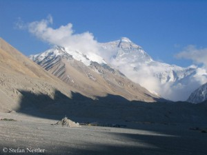 North side of Mount Everest