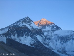 North side of Everest
