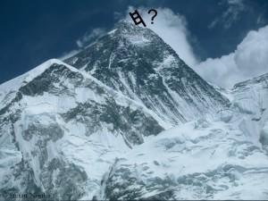 Everest-mit-Leiter