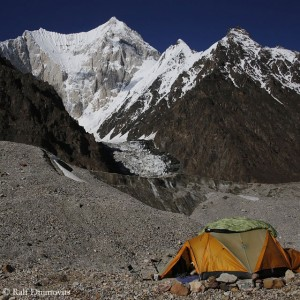 Gasherbrum VI seen from Base Camp