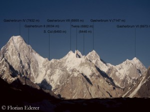 The Gasherbrum massif