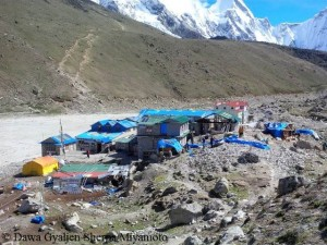 Gorak Shep near Everest Base Camp