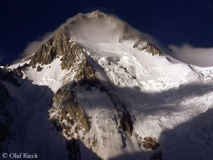 Gasherbrum I, also called Hidden Peak