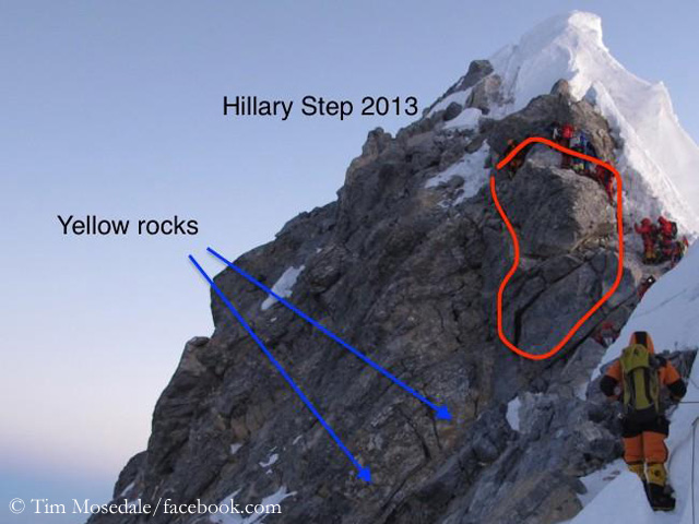 Once upon a time … the Hillary Step