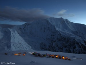 Camp 2 on Himlung Himal (© T. Merz)