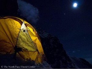 Evening in high camp (©The North Face)