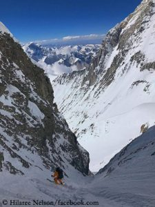 Nelson and Morrison succeed historic ski descent from Lhotse - Expeditions