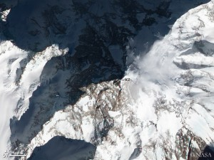 K 2 from above