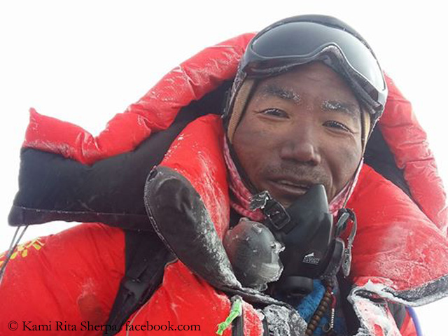 Everest season: successes, records, deaths and more - Mount ... DW Blogs Kami Rita Sherpa on the summit