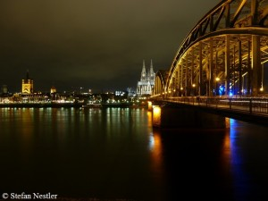 I will start at Cologne Cathedral ...