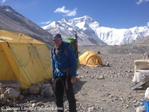 Thomas Laemmle in Chinese Base Camp