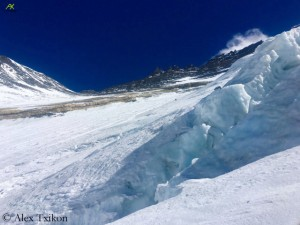 The Lhotse flank