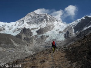 On the way to Makalu