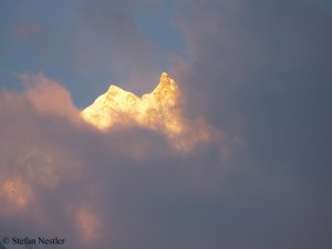 I tweeted this image of Manaslu