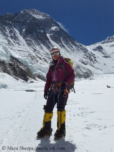 Maya Sherpa on Everest