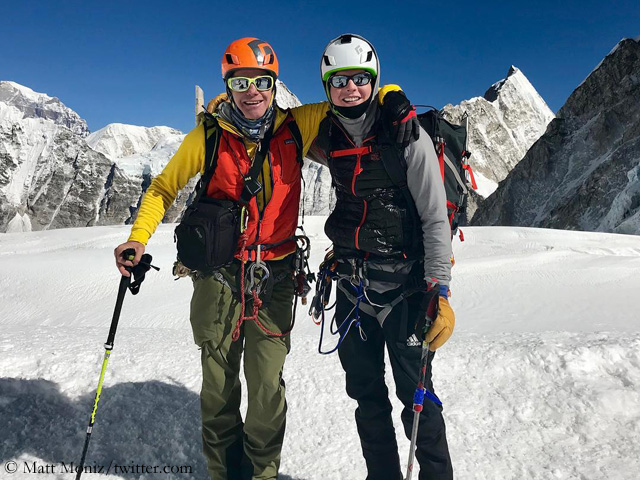 Moniz/Benegaz: Everest summit success after all