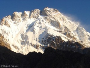 The Rupal face of Nanga Parbat