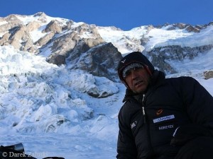 Ralf on Nanga Parbat in January 2014