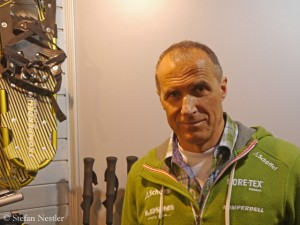 Ralf Dujmovits at the ISPO