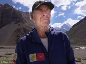Ranulph Fiennes on Aconcagua