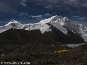 Advanced Base Camp on Shishapangma
