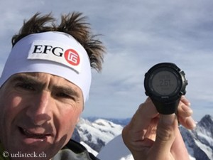 Steck on top of Eiger