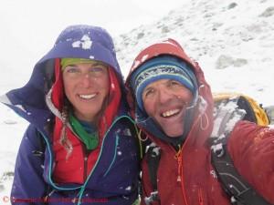 Tamara with Simone Moro
