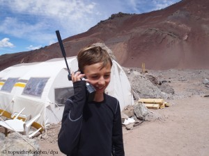 Tyler Armstrong (at the foot of Aconcagua in 2013)