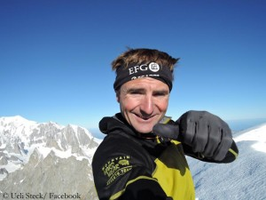 Finished! Ueli Steck