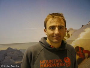 Ueli Steck at the ISPO
